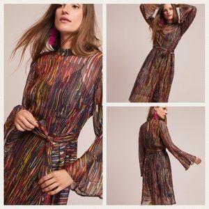 Anthropologie Bl^nk Harvest Moon Dress Large NWT